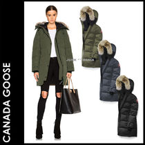 CANADA GOOSE SHELBURNE Casual Style Plain Medium Down Jackets
