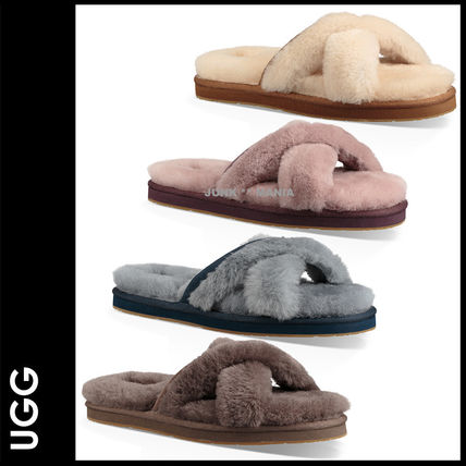 UGG Australia Casual Style Plain Slippers Sandals Sandals