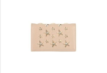 Star Studded Leather Card Holders