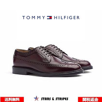 Tommy Hilfiger Wing Tip Leather Loafers & Slip-ons