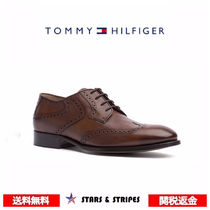 Tommy Hilfiger Wing Tip Leather Oxfords