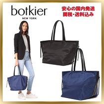 Botkier Casual Style Unisex A4 Plain Totes