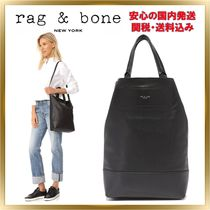 rag & bone Casual Style Unisex A4 2WAY Plain Leather Totes