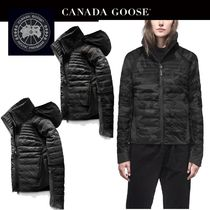 CANADA GOOSE Short Camouflage Plain Down Jackets