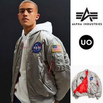 ALPHA INDUSTRIES Short Street Style MA-1 Bomber Jackets