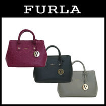 FURLA LINDA Leather Shoulder Bags