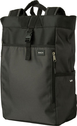 Casual Style Unisex A4 2WAY Plain Backpacks