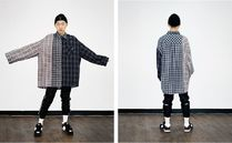 AJO AJOBYAJO Other Plaid Patterns Unisex Street Style Long Sleeves Cotton