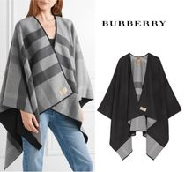 Burberry Other Check Patterns Casual Style Wool Medium