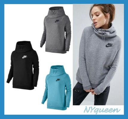 Nike Casual Style Street Style Long Sleeves Plain Medium