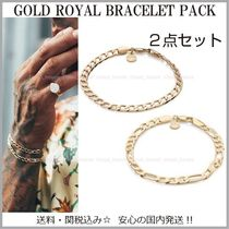 Chained & Able Street Style Plain Bracelets