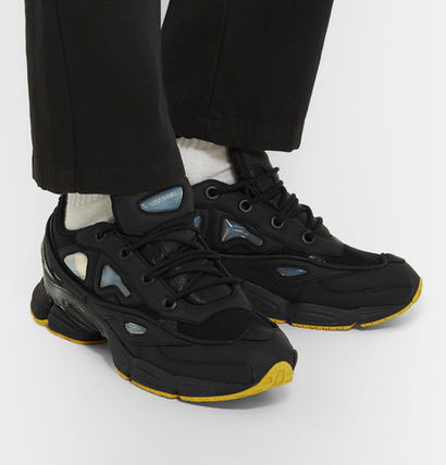 RAF SIMONS Street Style Leather Sneakers