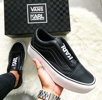 f70e550832b VANS OLD SKOOL Platform Casual Style Street Style Collaboration Bi-color