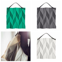 ISSEY MIYAKE Casual Style Collaboration Plain Totes