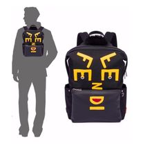 FENDI FENDI Lettering Vocabulary Backpack / Black