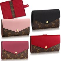 Louis Vuitton Monogram Calfskin Folding Wallets