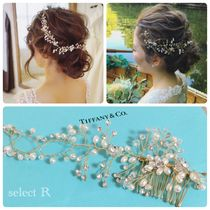Flower Patterns With Jewels Wedding Jewelry