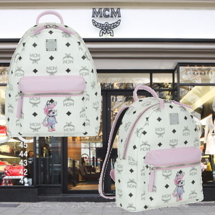 MCM Cambus Other Animal Patterns Backpacks