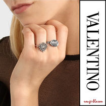 VALENTINO Casual Style Brass Rings