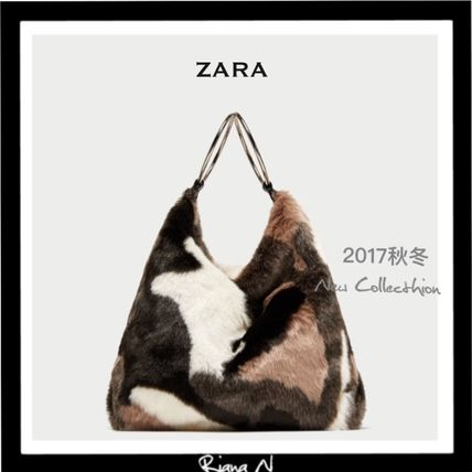 ZARA Faux Fur Handbags
