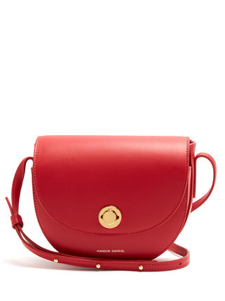 MANSUR GAVRIEL Casual Style Plain Leather Shoulder Bags