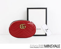 GUCCI GG Marmont Quilting leather belt bag [London department store new item]