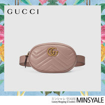 GUCCI Quilting leather belt bag [London department store new item]