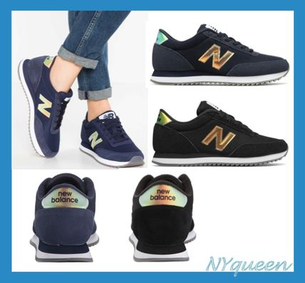 New Balance 501 Casual Style Suede Street Style Plain Low-Top Sneakers