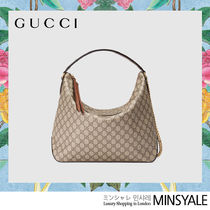 GUCCI Canvas Hobo Bag [London department store new item]