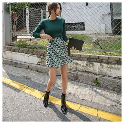 Pencil Skirts Short Casual Style Skirts