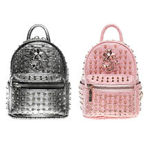 BOY LONDON Casual Style Studded Backpacks