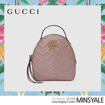 GUCCI GG Marmont Quilting leather backpack [London department store new item]