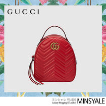 GUCCI Quilting leather backpack [London department store new item]