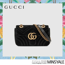 GUCCI GG Marmont Velvet mini bag [London department store new item]