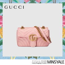 GUCCI GG Marmont Quilting leather bag [London department store new item]