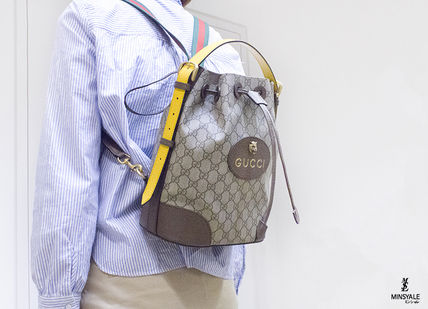 e456bd2f7f2 GUCCI Backpacks GG Supreme Canvas Backpack London department store new item   14 ...