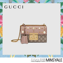 GUCCI Bag with Padlock studded [London department store new item]