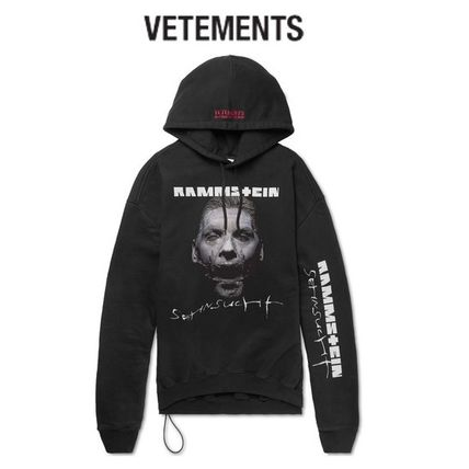 VETEMENTS Sweat Street Style Long Sleeves Hoodies