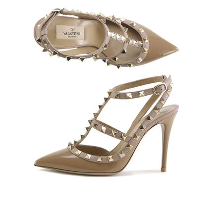 VALENTINO More Pumps & Mules Street Style Leather Pumps & Mules 9