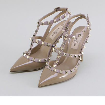 VALENTINO More Pumps & Mules Street Style Leather Pumps & Mules 10