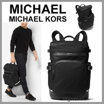 Michael Kors Nylon A4 2WAY Plain Backpacks