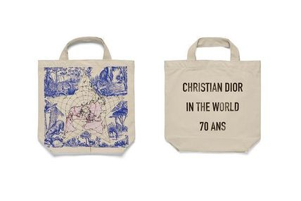 Christian Dior Casual Style Totes