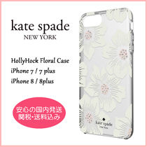kate spade new york Flower Patterns Plain With Jewels Smart Phone Cases