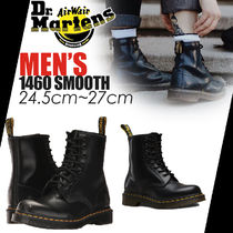 Dr Martens Plain Toe Plain Leather Boots