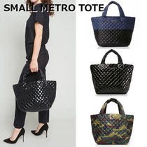 MZ WALLACE Flower Patterns Camouflage Casual Style Nylon Totes