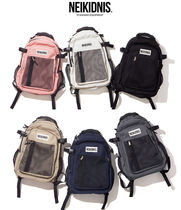NEIKIDNIS Casual Style Unisex A4 Plain Backpacks