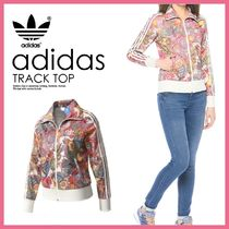 adidas Flower Patterns Tropical Patterns Street Style Jackets