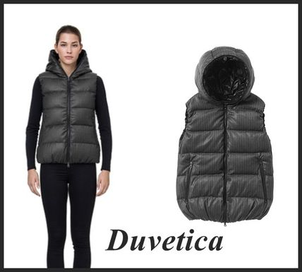 DUVETICA Short Casual Style Down Jackets