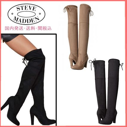 Suede Elegant Style Over-the-Knee Boots