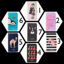 kate spade new york Flower Patterns Other Animal Patterns Leather With Jewels